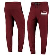 Men's Crimson Alabama Crimson Tide Jersey Cuffed Leg Pants