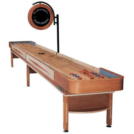 Playcraft Telluride Honey 12' Shuffleboard Table