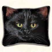 Fiddlers Elbow 91 Black Cat Pillow