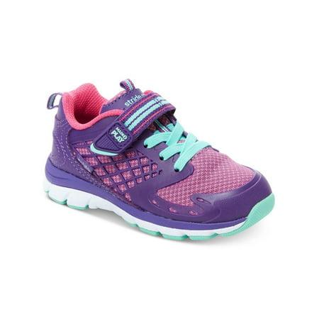 Stride Rite Cannan Made2play Girls Sneaker Shoes Purple 5 W ()