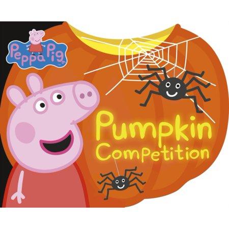 PEPPA PIG PUMPKIN COMPETITION](Peppa Halloween English)