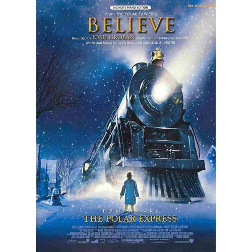 Believe: Big Note Piano Edition, Sheet