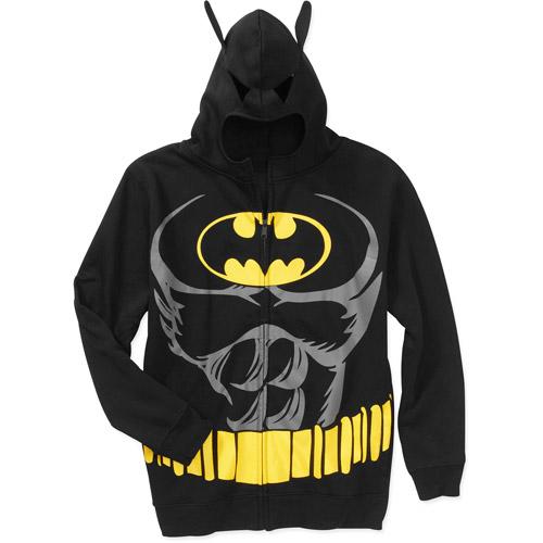 Batman Men's License Full Zip Hoody
