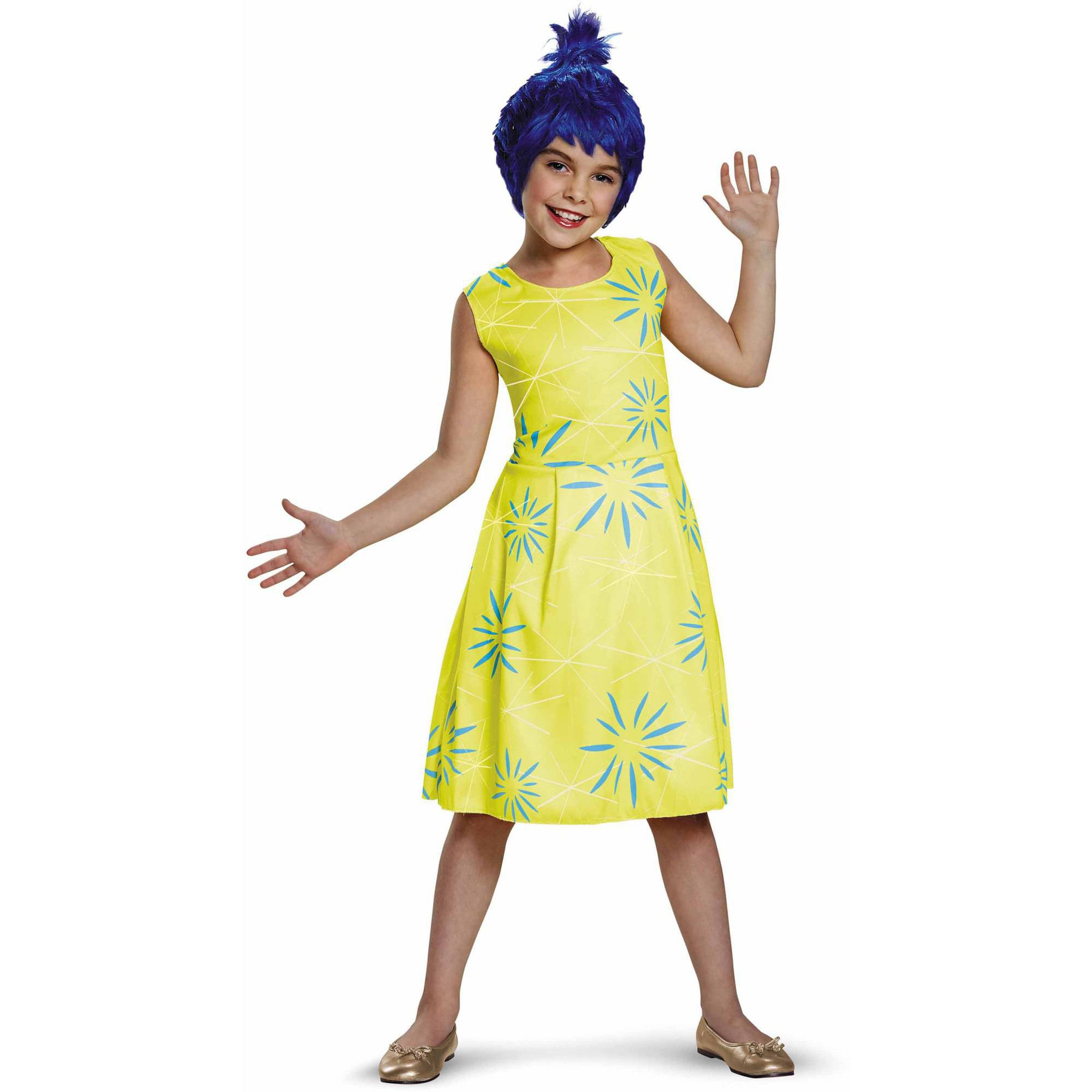 Inside Out Joy Classic Child Halloween Costume - Walmart.com