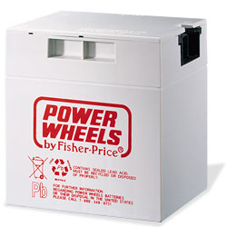 Fisher Price Power Wheels 00801-0638 12-Volt Rechargeable...