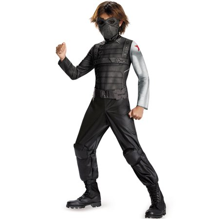 Winter Soldier Classic Boys Child Halloween Costume, One Size, S (4-6)