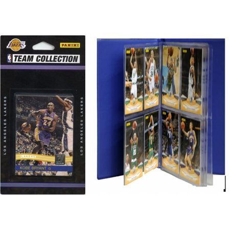 NBA Los Angeles Lakers Licensed 2010-11 Donruss Team Set Plus Storage Album - Zipline Los Angeles