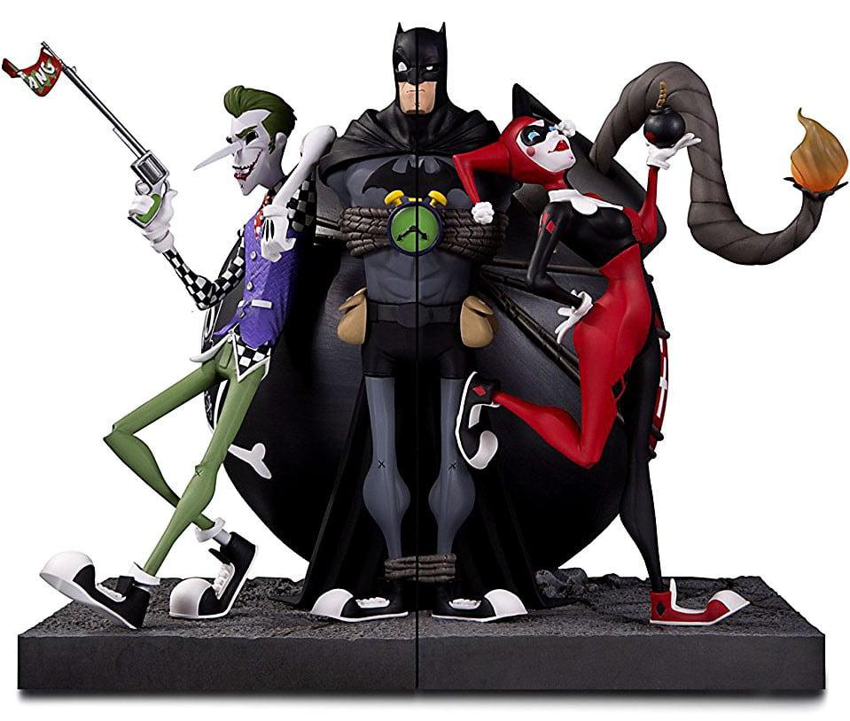 DC Batman The Joker & Harley Quinn Bookends by DC COMICS