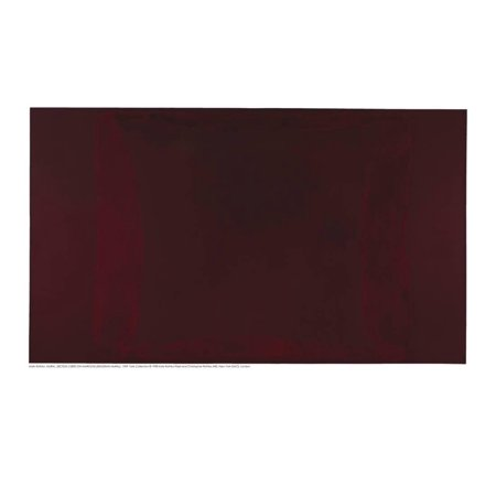 Mural, Section 2 {Red on Maroon} [Seagram Mural] Minimalist Abstract Expressionism Print Wall Art By Mark Rothko