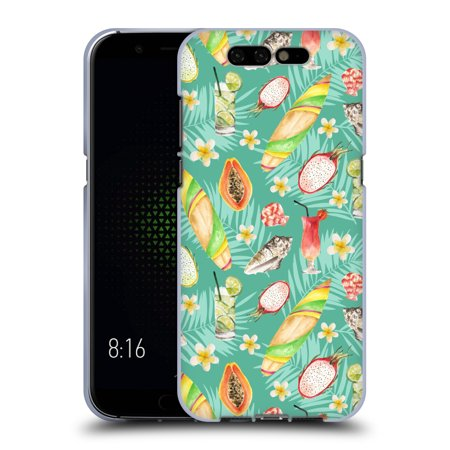 OFFICIAL JULIA BADEEVA  TROPICAL PATTERNS SOFT GEL CASE FOR XIAOMI PHONES