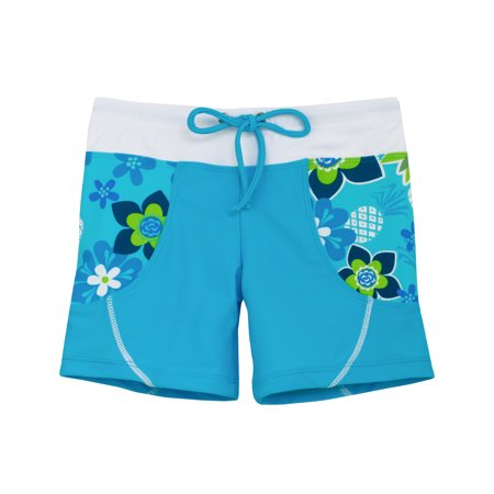 767eeaa507 Tuga Sunwear - Tuga Girls Swim Short (UPF 50+), Cristillo, 2/3 yrs -  Walmart.com