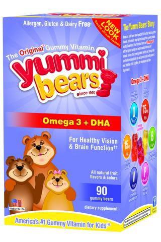 Hero Nutritionals Yummi Bears Dha 90 Gummy Bears by Hero Nutritional Products