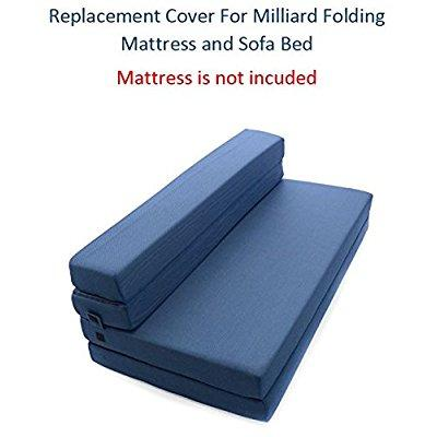 Replacement Cover for Milliard Tri-Fold Mattress and Sofa Bed - Queen