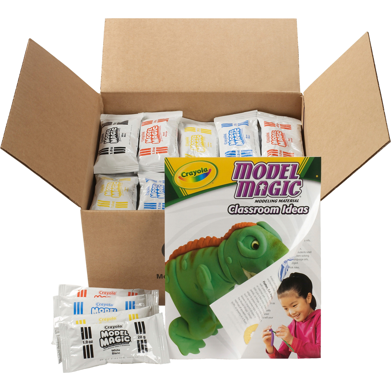 Crayola Model Magic Modeling Compound Classpack, Asstd Colors, 1 oz, 75 ct by Crayola, LLC