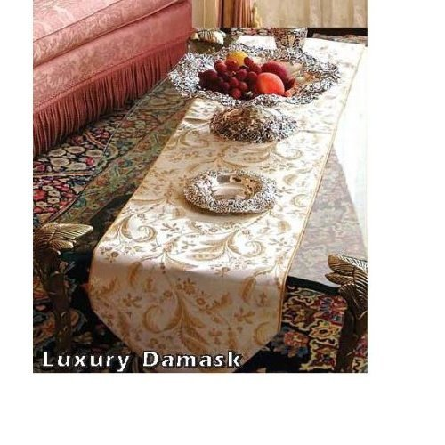 Luxury Damask Table Runners