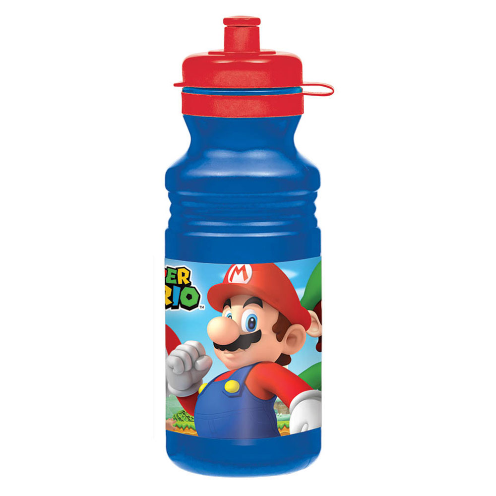 Super Mario Drink Bottle - Party Supplies