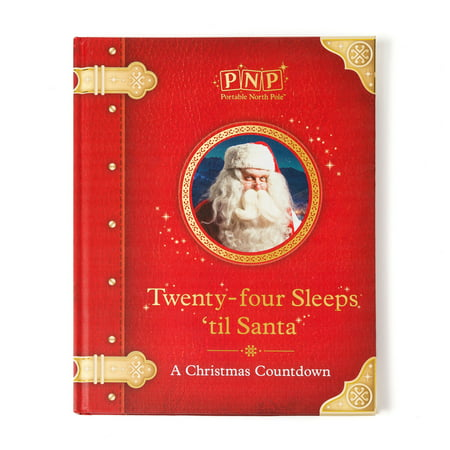 Christmas Carols North Pole - Portable North Pole 24 Sleeps Until Santa Christmas Storybook with Personalized Video Message from Santa