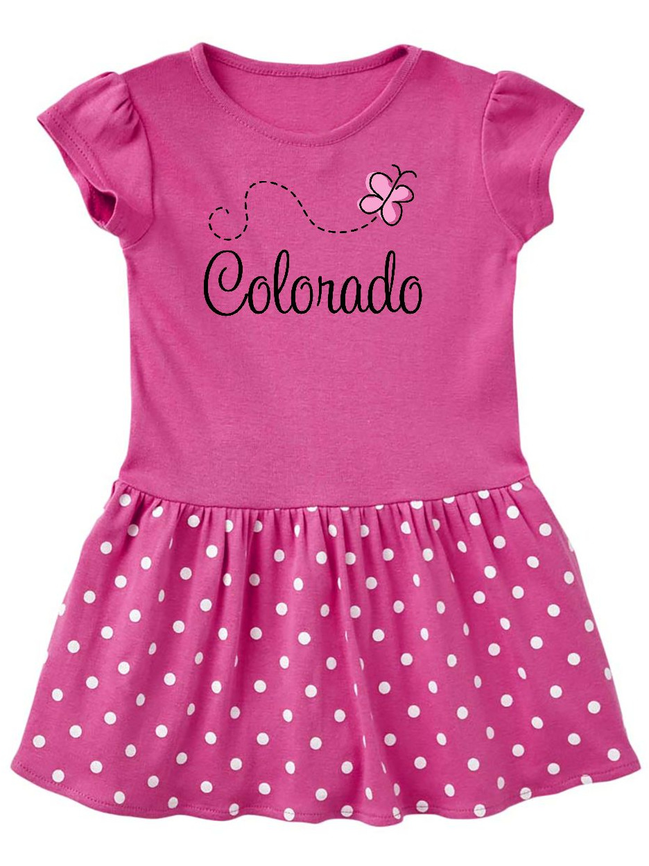 Butterfly Colorado Toddler Dress