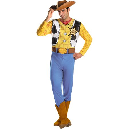 Toy Story Mens' Woody Adult Halloween Costume - Men Adult Costumes