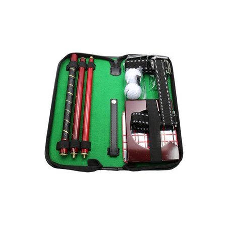 - Posma GSP020WD1 Portable Golf Putting Trainer Gift Set for Indoor Outdoor Putter Practice w/ Putting Alignment Mirror