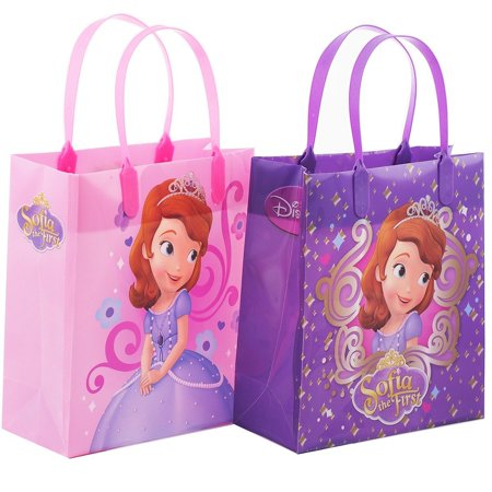 Princess Sofia 12 Authentic Licensed Party Favor Reusable Medium Goodie Gift Bags 6