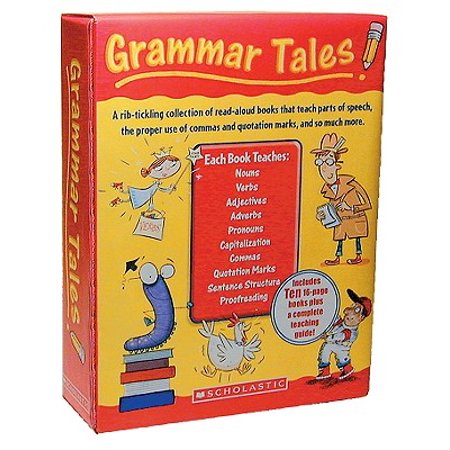 Grammar Tales Box Set : A Rib-Tickling Collection of Read-Aloud Books That Teach 10 Essential Rules of Usage and (Best Way To Teach Grammar)