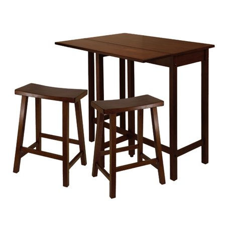 Winsome Lynnwood 3 Piece Kitching Dining Set In Antique