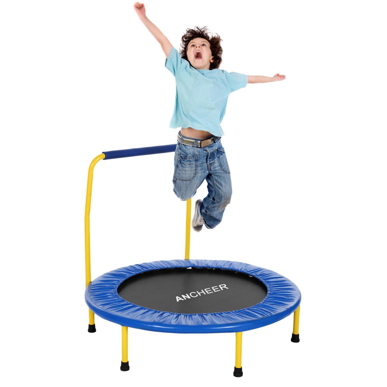 Children Kids Trampoline Safe Portable Toddler Trampoline   SMT
