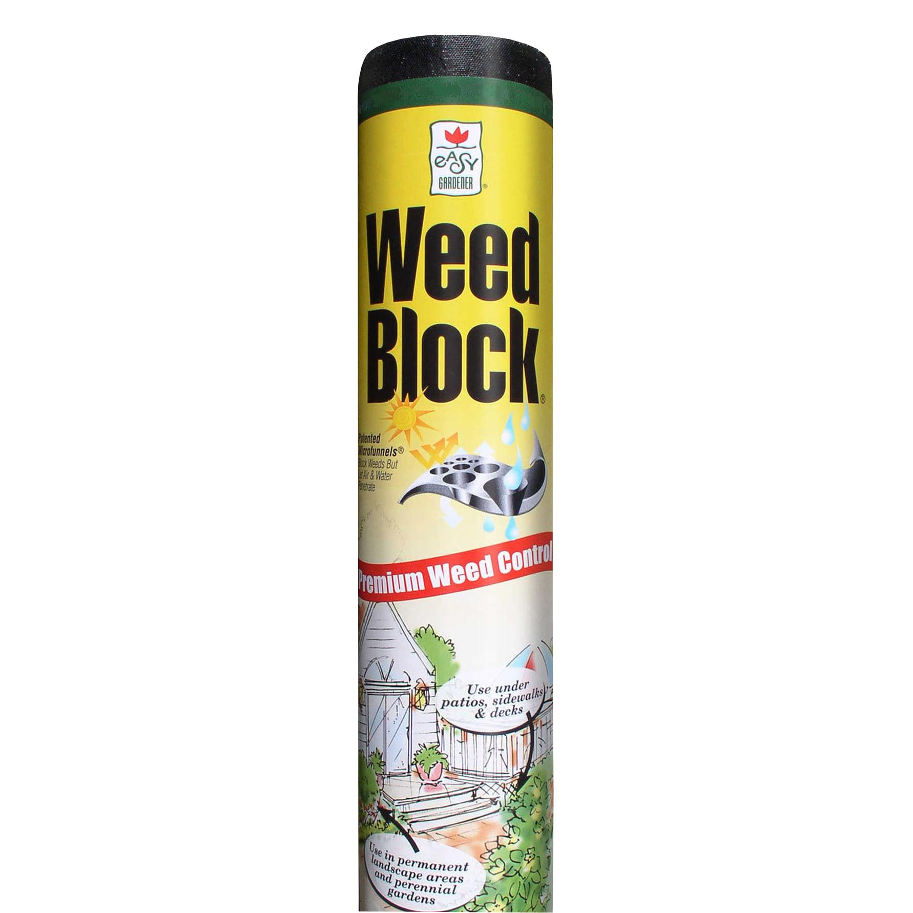 Easy Gardener 1071 6' x 50' Weedblock® Landscape Fabric