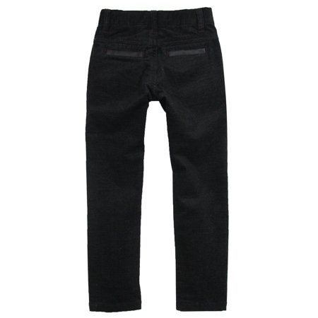 Deux par Deux Boys' Velvet Pants Call Me Mister, Sizes 18M-10 - 3 - image 1 of 2