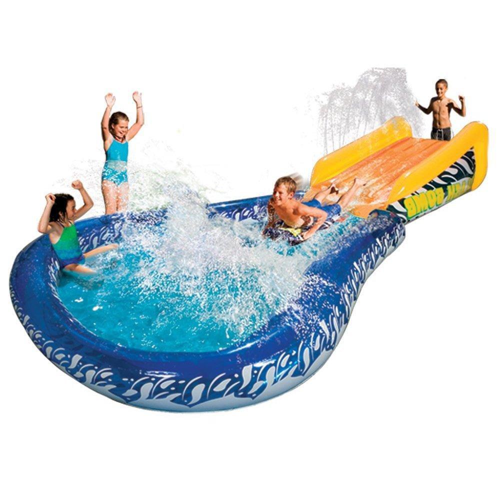 Manley Banzai Cannonball Splash Water Slide