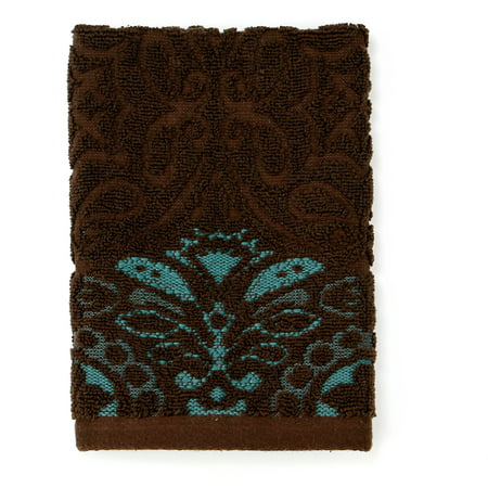 better homes and gardens galleon jacquard hand towel