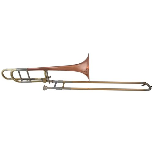 Blessing BTB-88OR Artist Series Trombone With F Attachment Open Wrap, Lacquered Brass with... by Blessing