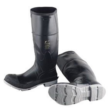 """Image of Onguard Industries Size 13 Polyblend Black 16"""" Polyurethane And PVC Kneeboots With Cleated Outsole"""