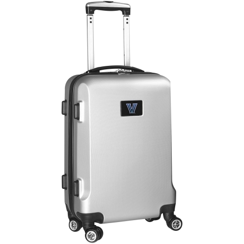 NCAA Villanova Wildcats Silver Hardcase Spinner Carry On Suitcase