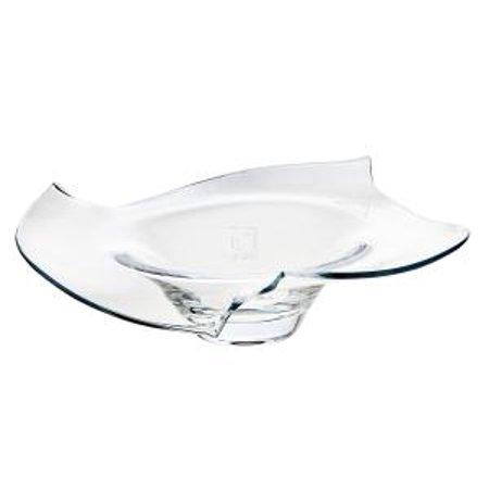 Carousel Leaded Crystal Footed Centerpiece Display Bowl
