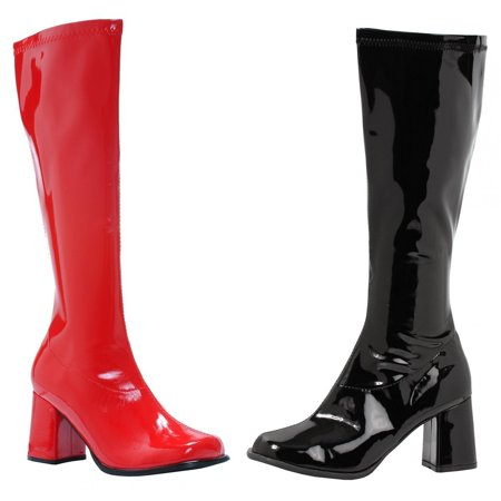 Harley Quinn Womens Red/Black Costume Boots for $<!---->