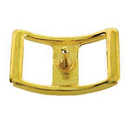 "3/4"" HILASON SOLID BRASS CONWAY BUCKLE HORSE WESTERN TACK"