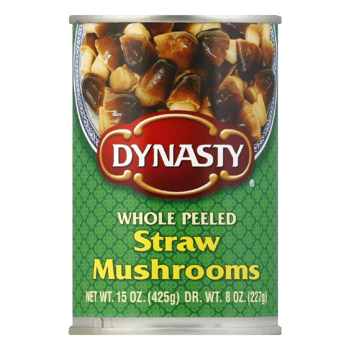 Dynasty Straw Mushrooms, 15 OZ (Pack of 12) by