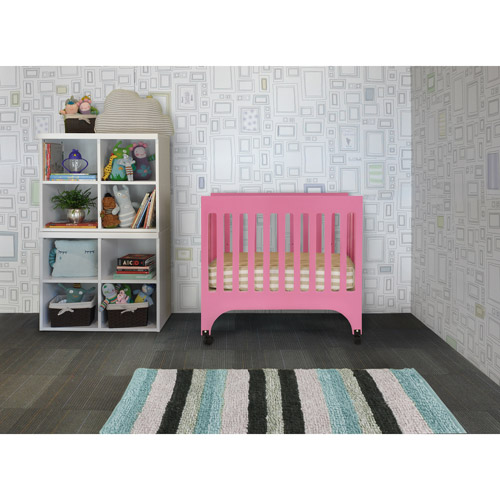 Baby Mod - Dylan Mini Crib, Pink