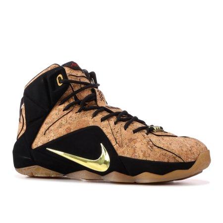 38620867d6a Nike - Men - Lebron 12 Ext  King s Cork  - 768829-100 - Size 9.5 ...