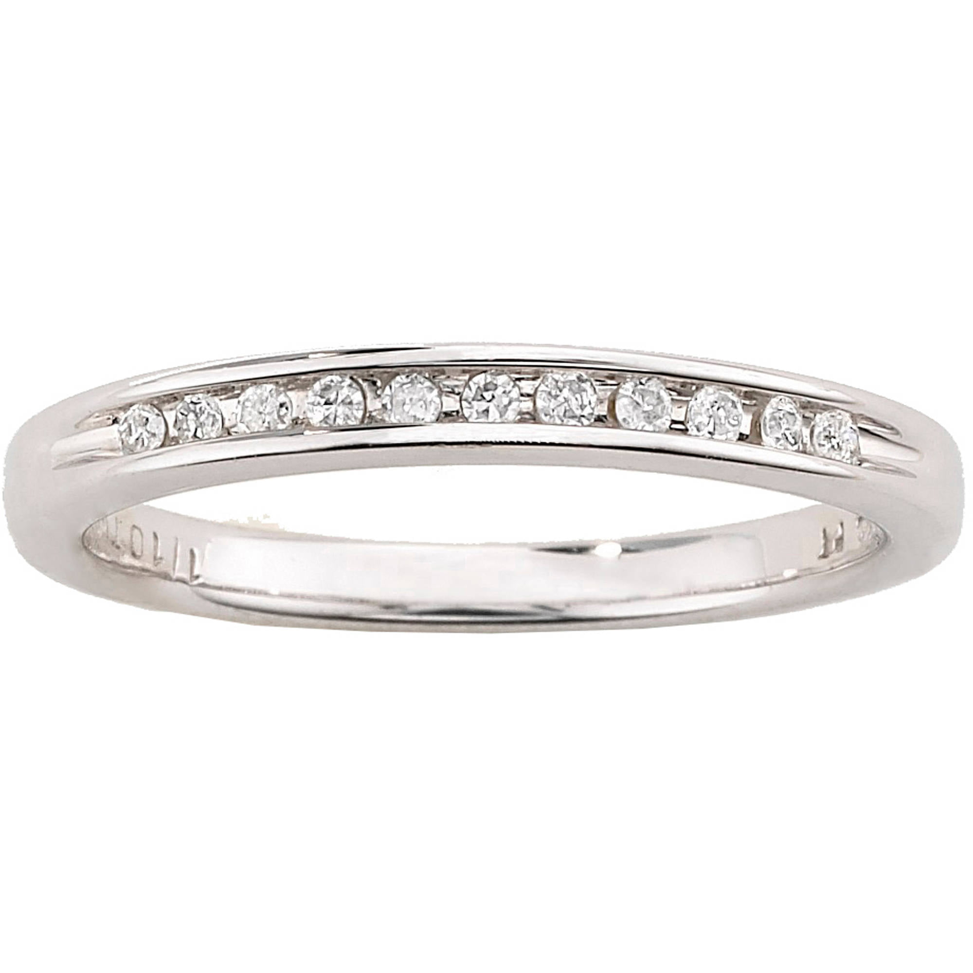 Always Forever Platinaire 112 Carat TW Diamond Wedding Band