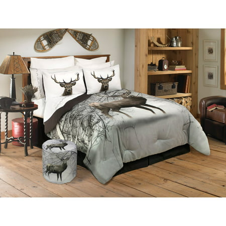 Deer In Snowy Forest Comforter Set By Safdie And Co
