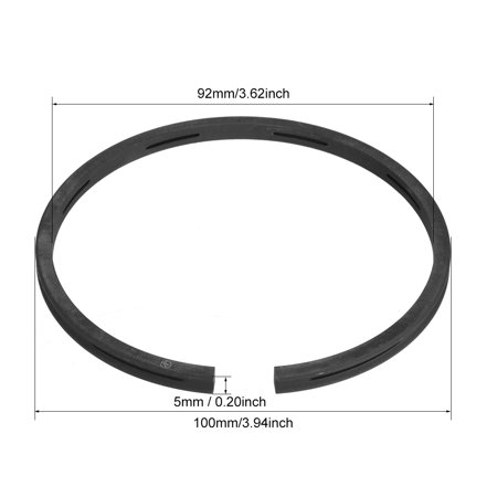 Air Compressor Replacement 100mm Outer Diameter Piston Rings 1 Set - image 3 de 4