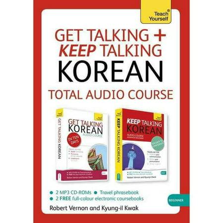 Teach Yourself Get Talking + Keep Talking Korean: Total Audio Course