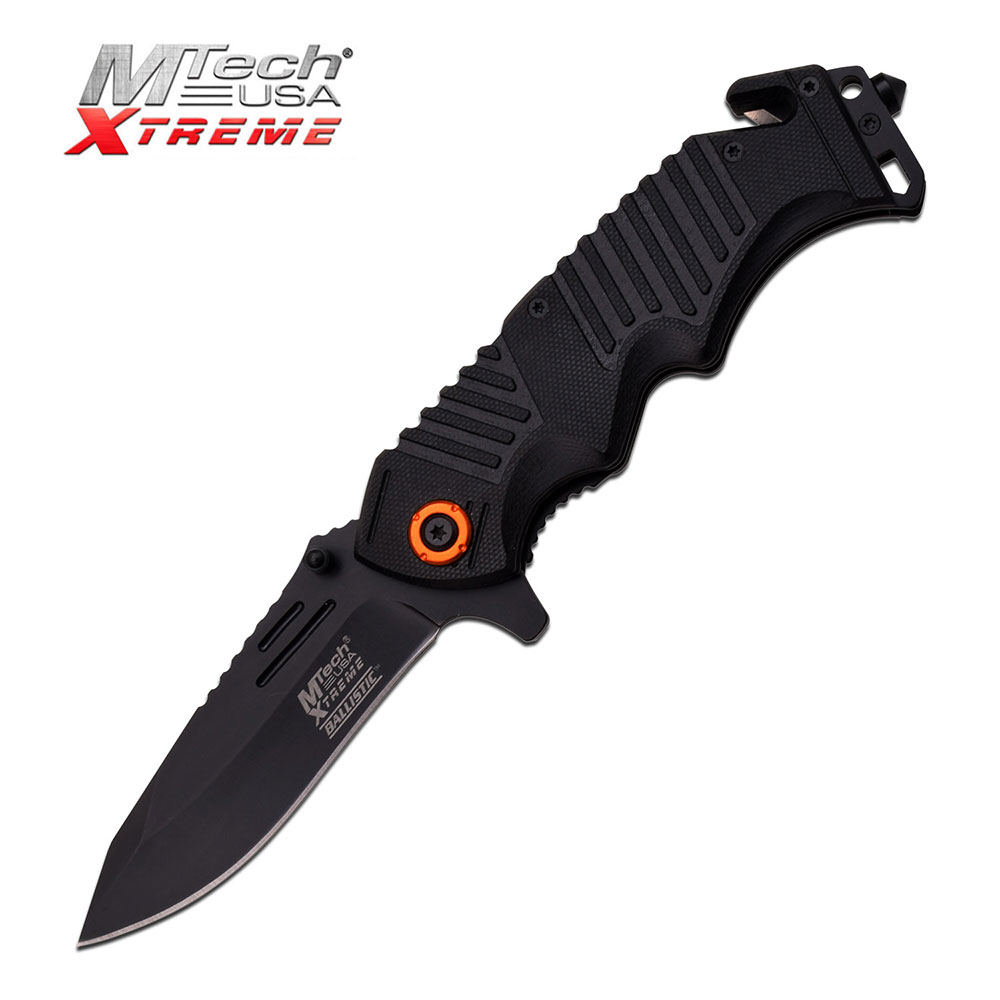 "MTech Xtreme Spring-Assisted Knife with 3.75"" Blade"