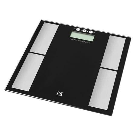Electronic Body Fat Analyzer (Kalorik Electronic Scale with Body Fat Analyzer, Black )