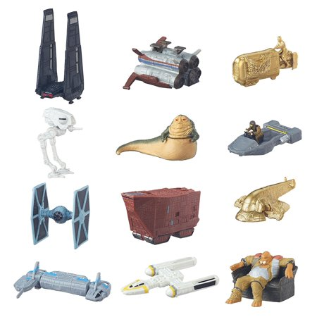 : The Force Awakens Micro Machines Series 5 Vehicle Mystery Bag, Authentic recreation of vehicles from Star Wars: The Force Awakens By Star
