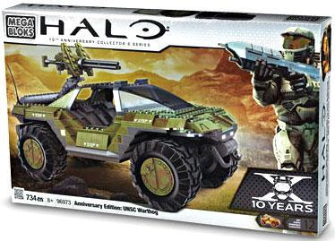 Anniversary Edition: UNSC Warthog Set Mega Bloks 96973 Halo by