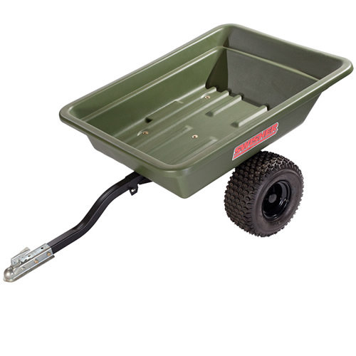 Swisher 12007 16 Cubic Foot Poly ATV Dump Cart
